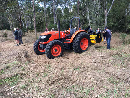 Muthing Mulcher Demo Day September 2014