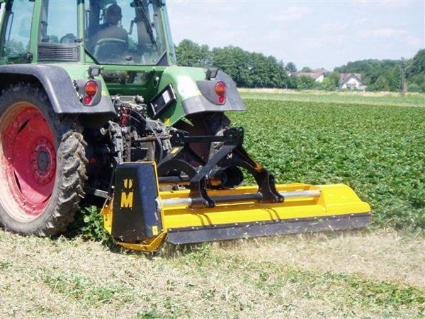 Muthing MU-M Flail Mower - In Action