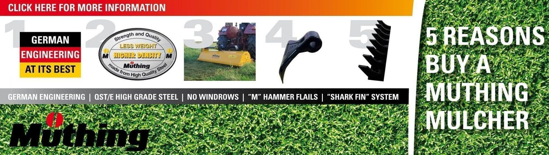 Mowers, Slashers & Mowers