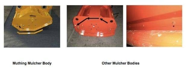 Specially Formed Mulcher Body