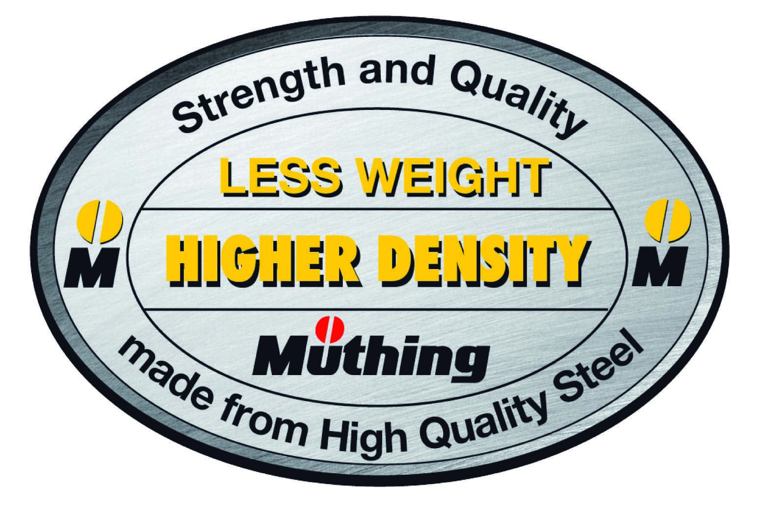 Less Weight - Higher Density Muthing