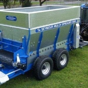 the seymour green waste / compost spreader