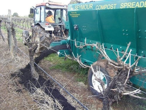 the seymour mulch spreader 3650