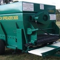 3.65 cubic metre mulch spreader