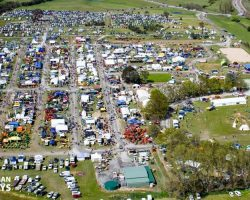 aerial view of murrumbateman field day