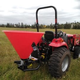 400kg capacity 3-point spreader