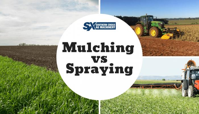 mulching vs spraying graphic