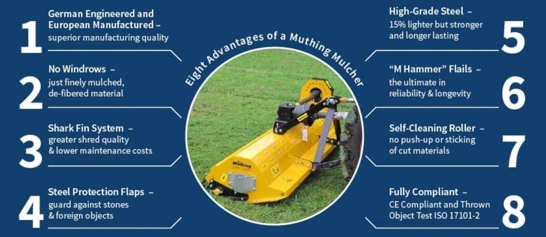 Muthing Mulcher Benefits